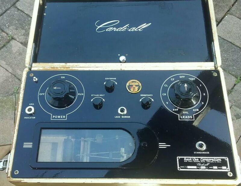 Vintage Beck-Lee Corporation Cardi-all EKG