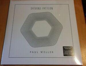 Paul Weller - Saturns Pattern - New Limited Clear Vinyl LP
