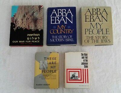Abba Eban MyPeople Country Gersch Zeitlin Rise Fall Judean State Israel Jews War