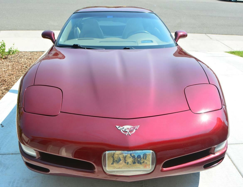 2003 Anniversary Red Chevrolet Corvette   | C5 Corvette Photo 1
