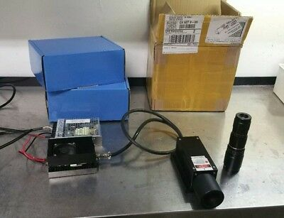 600mw 678nm Industrial Dpss Laser With Expanderfocus Lens