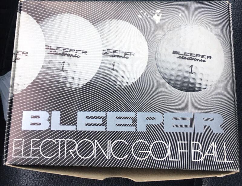 Bleeper Electronic Golf Ball