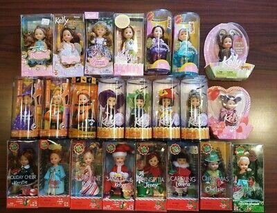 Origin Of Halloween Holiday (Lot Of 23 Barbie Kelly Dolls Holiday Halloween Party Birthday Rapunzel New)
