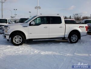 "2015 Ford F-150 4x4 SuperCrew 145"" Lariat"