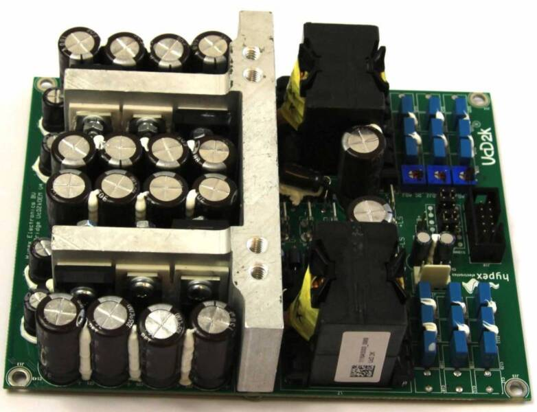 HYPEX CLASS D AMPLIFIERS FULLY BUILD 400W/
