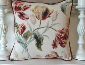 Cushion cover laura ashley gosford cranberry 16