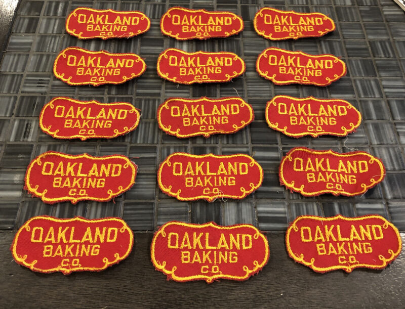 Vintage Oakland Baking Co Patch 1940s?