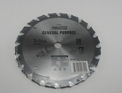 Tool Shop General Purpose 7-1/4 in 20 teeth saw blades NEW