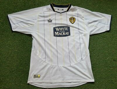 844392a8e Leeds United Jersey Kit SHIRT L 05/06 Admiral Whyte and Mackay