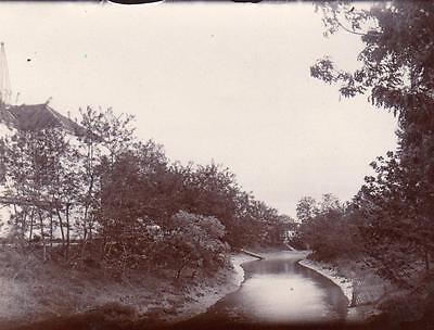 Creek scene Shanghai China  Photo 1906/7 (NOT Postcard)