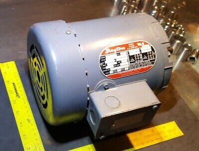 Dayton Electric Mfg 2n863l Three Phase 14hp 208-220440 2 Speed 9 Lead Ac Motor