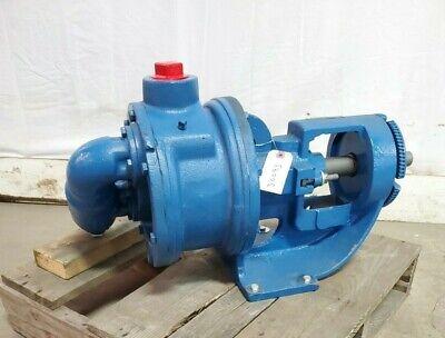 Viking Internal Gear Pump H4127a 1-12 Npt Ports Cast Iron W Relief Valve