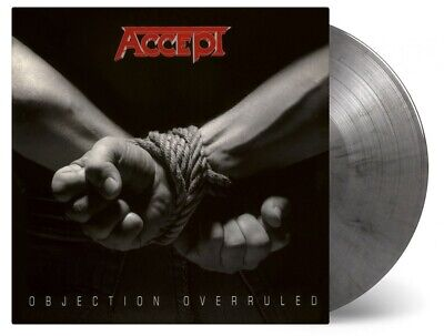 Accept - Objection Overruled COLOURED vinyl LP NEW/SEALED IN STOCK