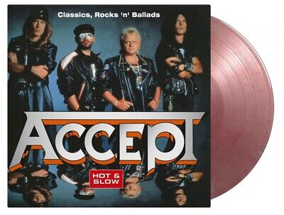 Accept - Hot & Slow Classics Rocks Ballads COLOURED vinyl LP NEW/SEALED...