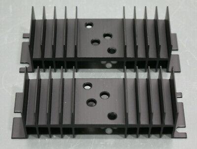 2 Wakefield To-3 Heat Sink 401a 4.75 X 1.50 X 1.25 4 Hole Black Aluminum