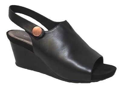 TS shoes TAKING SHAPE sz 6 / 37 Andi Wedge super-comfy black wide NIB rrp$170!