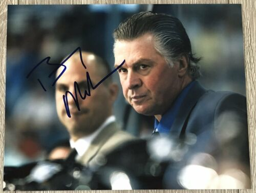 BARRY MELROSE SIGNED AUTOGRAPH LOS ANGELES KINGS TAMPA BAY LIGHTNING 8x10 PHOTO