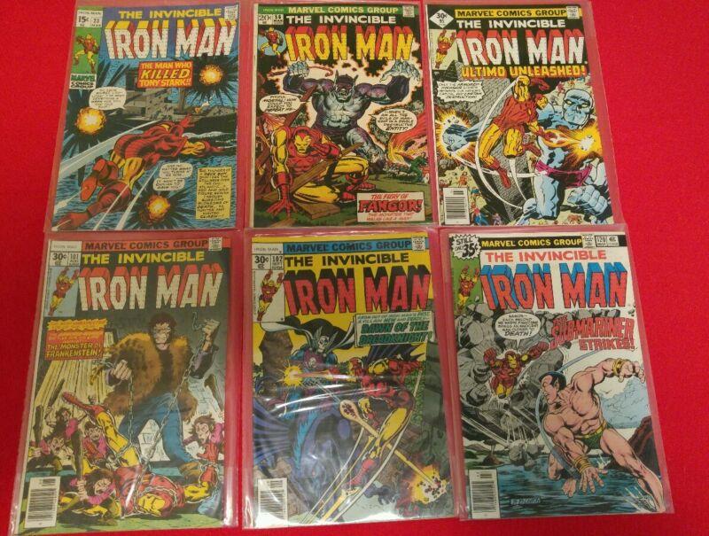 Iron man comic lot 31 issues - Ungraded