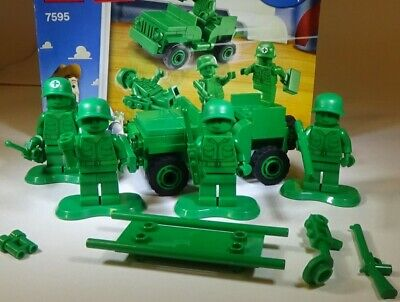 Lego Toy Story 7595 Army Men on Patrol with Instructions 100% Complete
