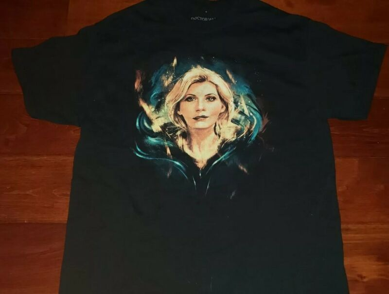 THIRTEENTH DOCTOR WHO SDCC 2018 Official BBC America Shirt 13th Jodie Whittaker