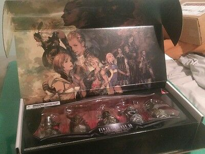 Final Fantasy Xii Zodiac Age Collectors Judge Magisters Busts  Box  Cards Only
