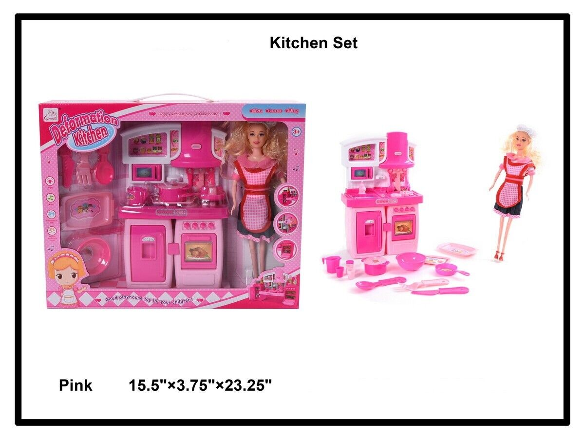 Toys for Girls Age 3 4 5 6 7 8 9 Years Old Kids Kitchen Chef