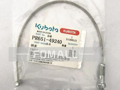 2pcs For Pr651-49240 Kubota Rice Transplanter Accessories Steel Cable L1