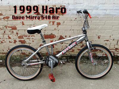 Red Haro 540 Dave Mira BMX decal