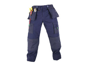 MAK-Workwear-Heavy-Duty-RIPSTOP-Pant-Size-30-44-Navy-Work-Cargo-NEW