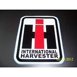 """1- INTERNATIONAL HARVESTER 4"""" X 6"""" New ( Red, White and Black) Vinyl Sticker"""