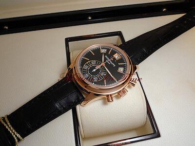 Patek Philippe 5960R Black in Rose Gold Complication Annual Calendar Chronograph