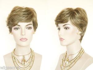 Short-Blonde-Grey-Brunette-Red-Straight-Wavy-Layered-Monofilament-Hand-Tied-Wig