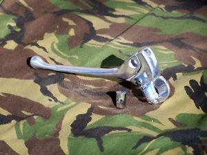 K-Model-Sportster-Polished-Aluminum-Clutch-Lever-Assembly-52-70-103