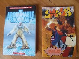 2x Books:Smash by D.Caddy. The Abominable Snowman by R Montgomery Claremont Nedlands Area Preview
