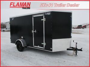 Royal Lightning 6'x14' Cargo Trailer - Barn Doors, New V-Nose!