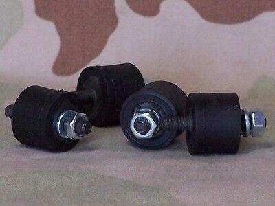 Shovelhead, Sportster Battery & Oil Tank Rubber Mount Studs. USA Made