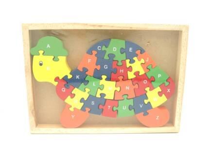 Turtle Alphabet & Number Puzzle