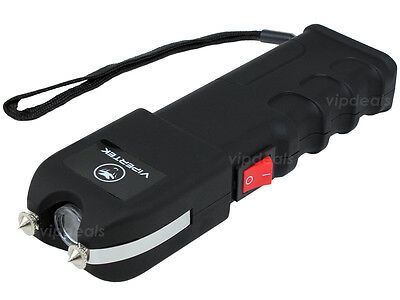 Купить VIPERTEK VTS-989 - 58 BV Rechargeable LED Police Stun Gun + Taser Case