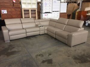 IVY CORNER LEATHER LOUNGE ELECTRIC RECLINERS Granville Parramatta Area Preview