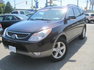 2010 HYUNDAI VERACRUZ GLS | AWD •7 Pass. • Leather • V6 • Sunroo