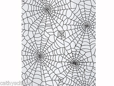 25 Halloween Spider Webs Candy Treats Party 4x2x9 Cello Goody Bags Holiday
