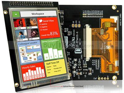 Lcd 3.5 320x480 Tft Display Module Wbreakout Boardtouch Panel Screentutorial