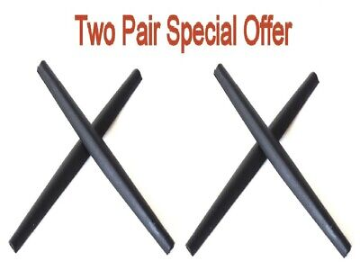 Galaxy Earsocks For Oakley Whisker,C Wire New 2011,Half Wire 2.0 Two Black Pair comprar usado  Enviando para Brazil
