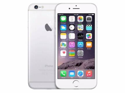 phone 6 Silver 64 GB - As New with Box $495.00