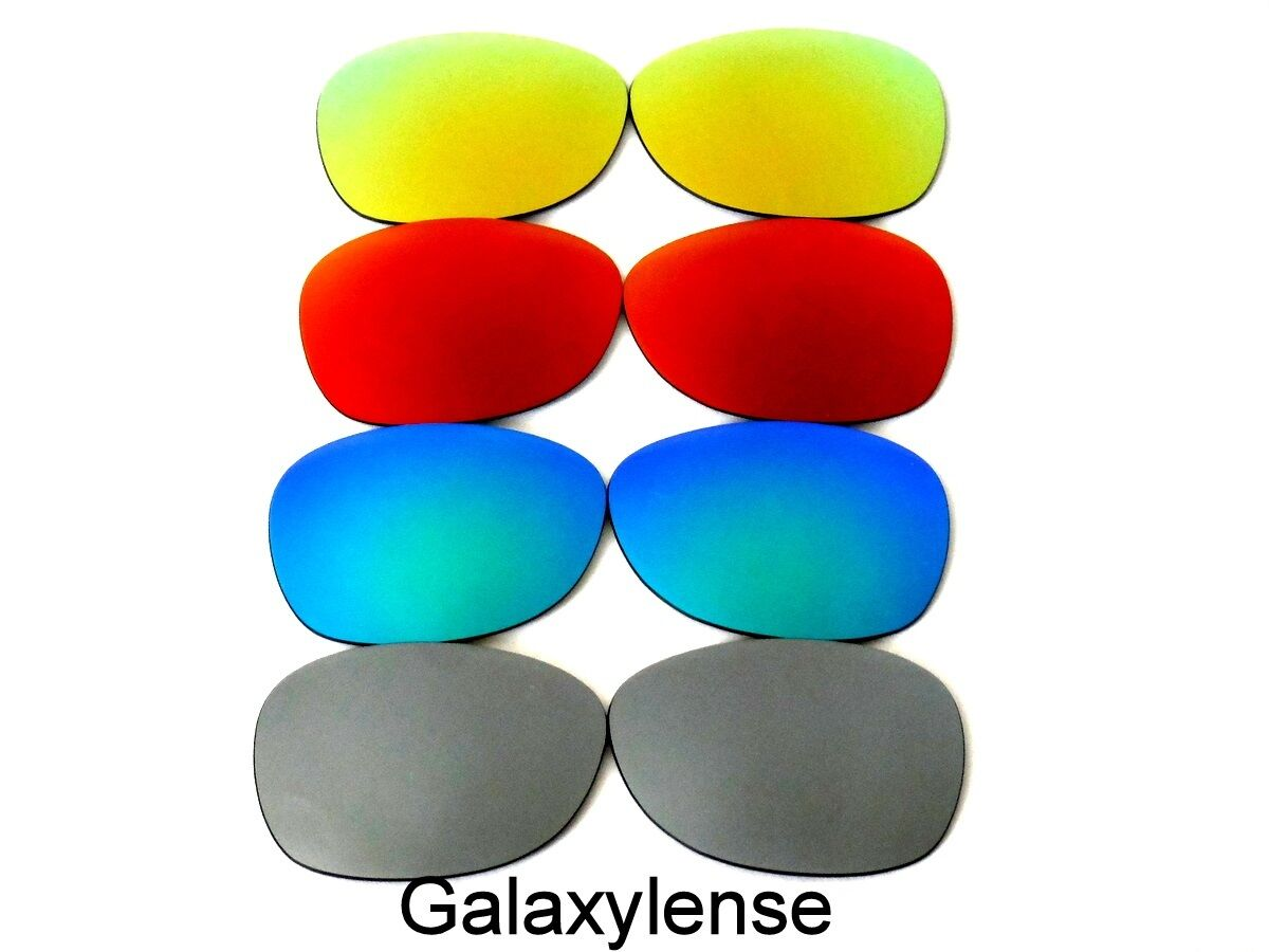 851cc3a09d NEW RAY BAN RB 2132 NEW WAYFARER 55 MM GRAY   GREEN   RED   GOLD COLOR POLARIZED  REPLACEMENT LENSES 4 PAIRS