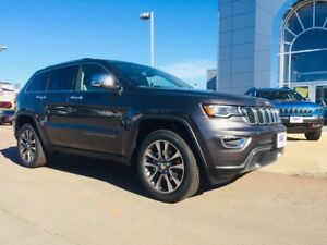 2018 Jeep Grand Cherokee Limited!! PANORAMIC SUNROOF!! OVER $13,