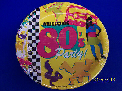 80s Themed Birthday Party (80's Decades Totally Awesome Bright Theme Retro Birthday Party 9