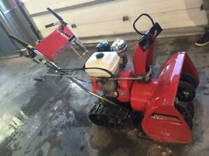 Honda Snowblower Ultimate Track Machine