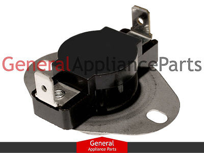 Dryer High Limit Thermostat Switch Fits Whirlpool Maytag Kenmore# 3391914 313093
