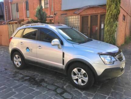 Holden Captiva SUV for hire - Carlton